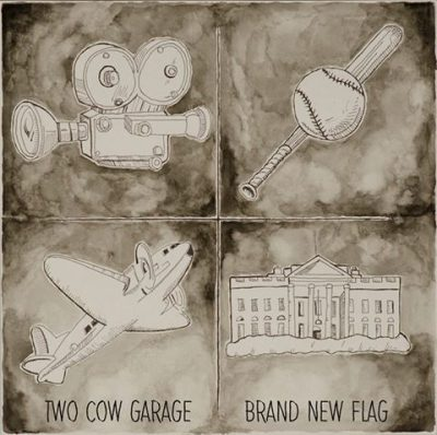 Two Cow Garage – Brand New Flag